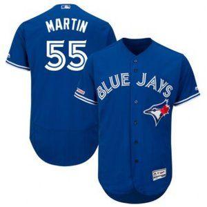 Toronto Blue Jays Russell Martin #55 Jersey